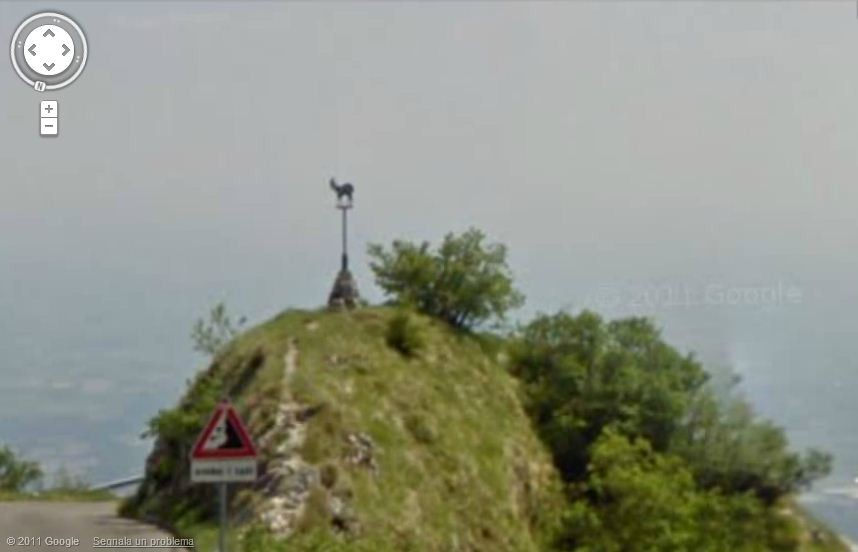 Google Maps Monte Grappa da Possagno (capra)